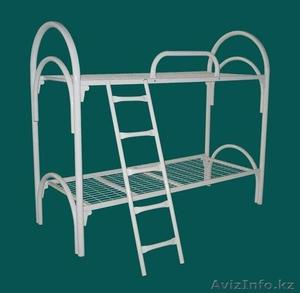 Двухъярусные металлические кровати, трёхъярусные металлические кровати, оптом - Изображение #2, Объявление #1415380