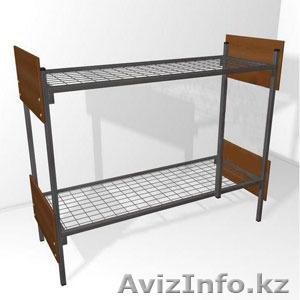 Двухъярусные металлические кровати, трёхъярусные металлические кровати, дёшево - Изображение #3, Объявление #1421170